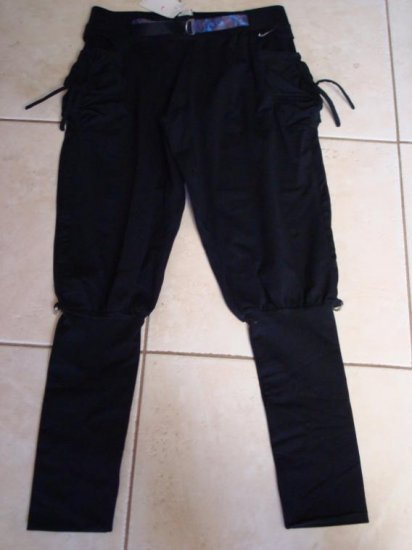 Nwt S NIKE Dri-fit Black Dance Fitness Women Pants New Small