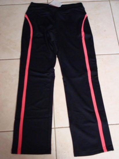 Nwt S 4-6 NIKE Dri-fit Women Border Tennis Pants New Small Black Pink