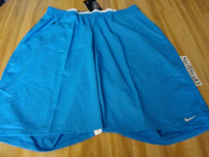 NwT XL NIKE Dri-fit Blue Tennis Fitness Shorts Men New