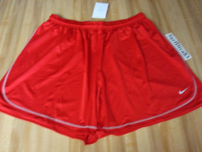NwT XL NIKE Dri-fit Red Tiempo Soccer Shorts Men New