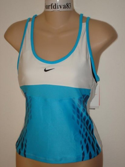 Nwt M NIKE DRI-FIT Running Women Tank Top Shirt New $48 Medium