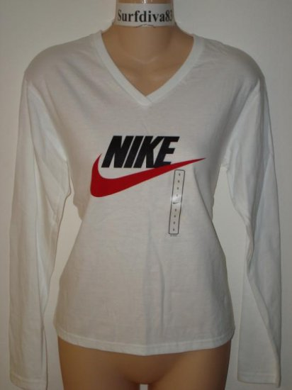 Nwt S 4-6 NIKE Athletic Fitness Tee Top Shirt New Women Small