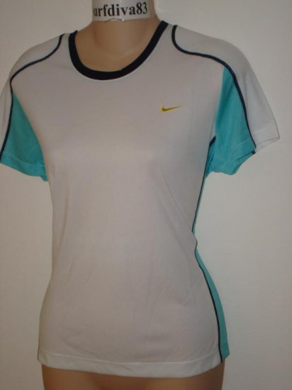 Nwt M NIKE Women Training Fitness Run Tee Top Shirt New Medium