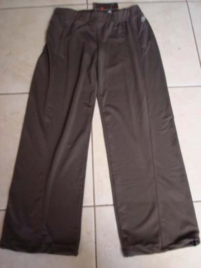 Nwt M 8 10 NIKE Brown Track Star Women Pants New Medium