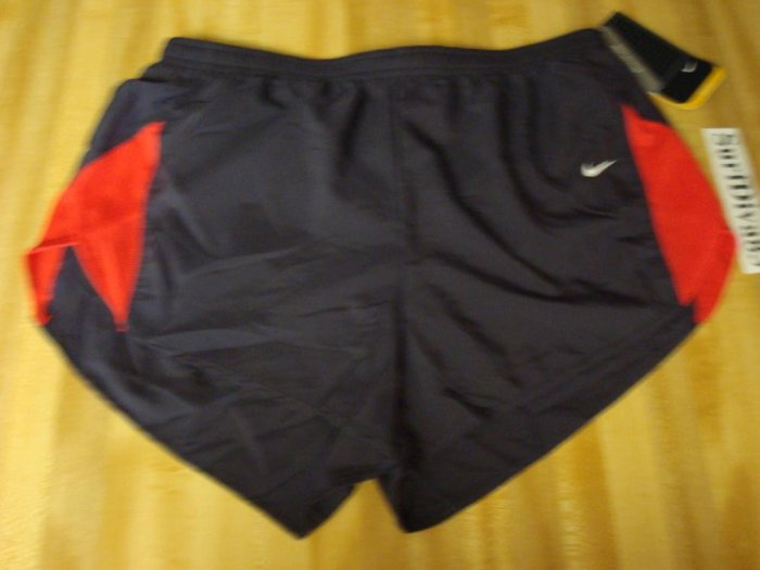 NwT L NIKE DRI-FIT Women Tailwind Track Run Shorts NeW Large