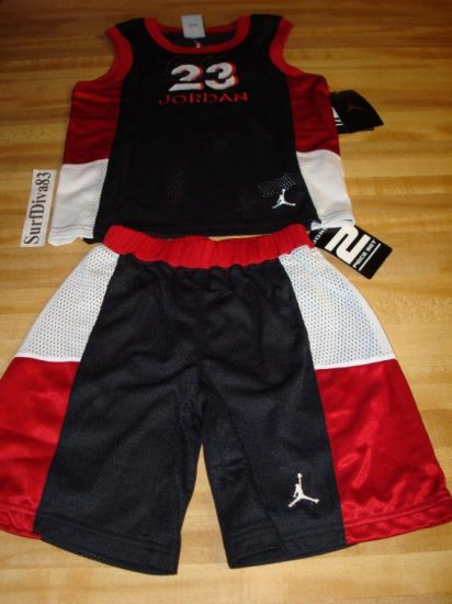 Nwt 4 NIKE JORDAN Jersey Shorts Set New Jumpman Rare
