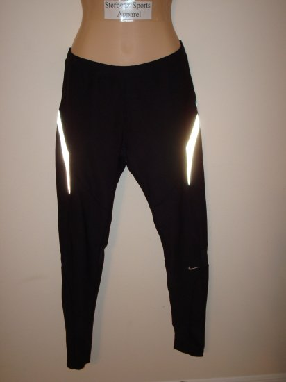 Nwt M NIKE Women Personal Best Running Tight Pants New Medium Black 8 10 Womens Run