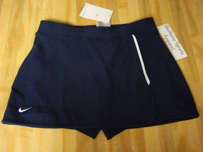 Nwt XS NIKE Women Fit Dry Adventure Running Skirt New Xsmall Navy Blue Tennis Skort