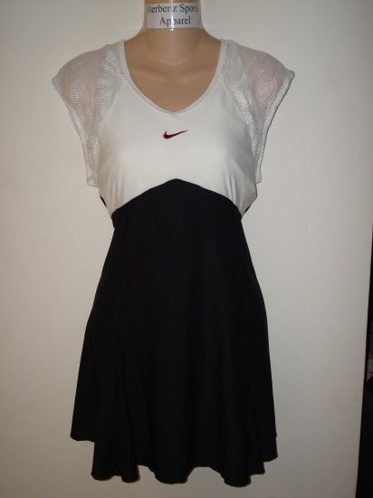 Nwt L NIKE Women Fit Dry Sharapova Tennis Dress New $95 Large US Open