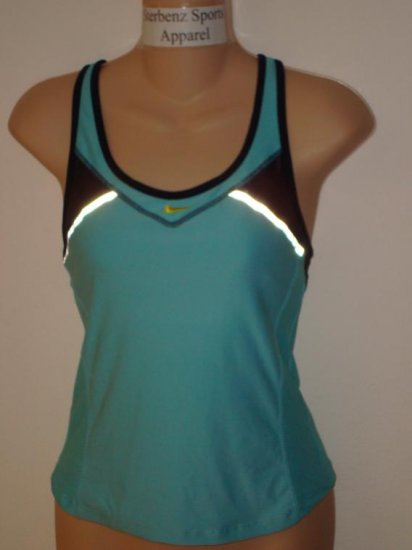 Nwt XS NIKE Women Fit Dry Personal Best Tank Top New Xsmall Reflective Running