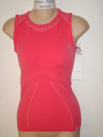 Nwt S M NIKE Women Dri-Fit Core Warmer Tank Top New $45 Small Medium Flamingo Pink