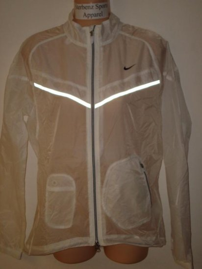 Nwt M NIKE Women Water Repellent Running Jacket New $110 Medium Tailwind