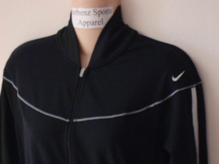 Nwt L NIKE Women Fit Dry Pinnacle Dance Jacket New $80 Large Black