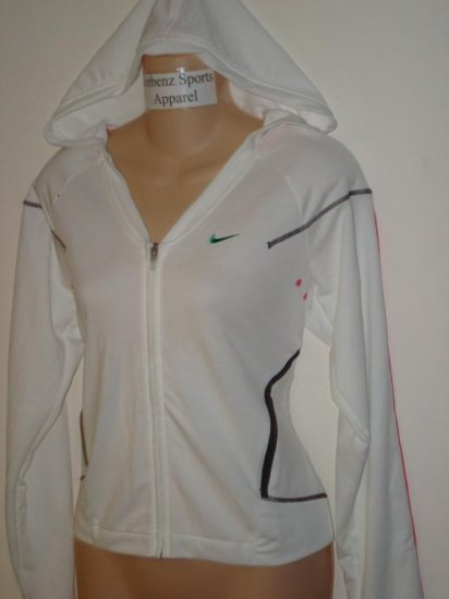 Nwt M 8-10 NIKE Women Fit Dry Hoody Fitness Jacket New Medium 227603-100