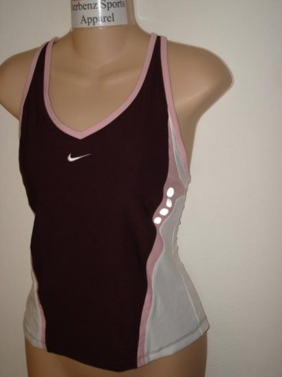Nwt M NIKE Women Fit Dry Personal Best Tank Top New $48 Medium 252277-656