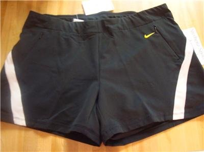 Nwt XL NIKE Women Fit Dry Pinnacle 2-in-1 Shorts New Xlarge 227497-012