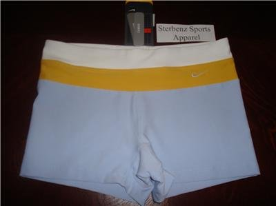 Nwt L NIKE Women Fit Dry Low-rise WorkOut Shorts New Large 145926-437
