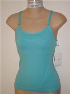Nwt M/L NIKE Women Seamless Long Tank Top Shirt New Medium Large 217129-429