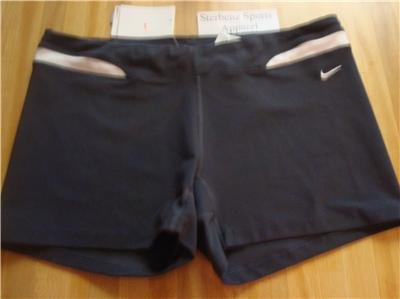 Nwt XL NIKE Women Fit Dry Low-rise WorkOut Shorts New XLarge 207252-060