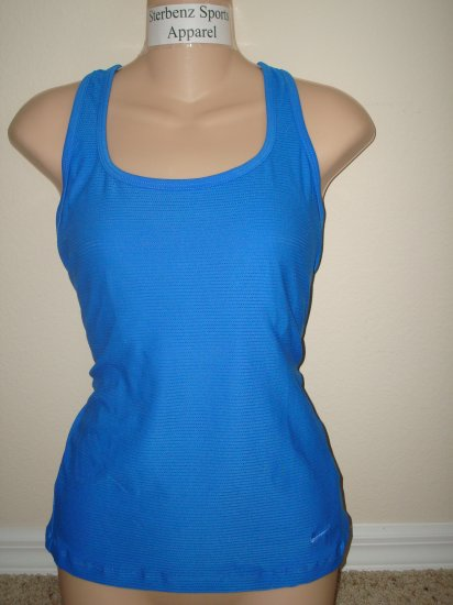 Nwt XL NIKE Women Fit Dry Low Impact Long Tank Top New XLarge 214734-499
