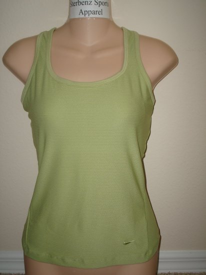Nwt M NIKE Women Fit Dry Low Impact Long Tank Top New Medium 214734-383
