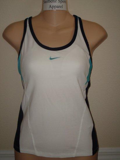 Nwt M NIKE Fit Dry Women Cardio Tennis Tank Top New $32 Medium 227518-102