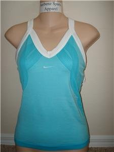 Nwt M NIKE Women Fit Dry Control Tennis Tank Top New Medium 228020-444