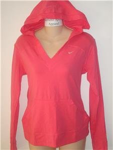 Nwt S NIKE Women Essential Long-Slv Hoody Top New $38 Small 157745-837