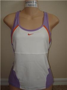 Nwt M NIKE Women Fit Dry Personal Best Long Top New $45 Medium 207691-102