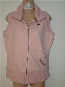 Nwt M NIKE Women Pink Finest Sherpa Vest Top New $65 Medium 245952-628