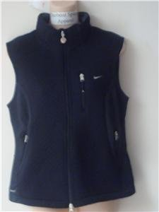 Nwt M NIKE Women Therma Fit Softshell Vest Jacket New Medium 215700-010