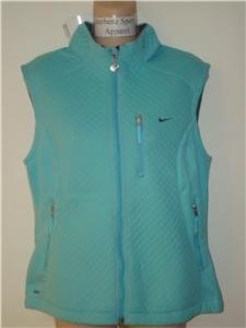 Nwt M NIKE Women Therma Fit Softshell Vest Jacket New Medium 215700-426