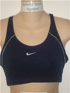 Nwt M NIKE Women Gym Fitness Racer Sport Bra Top New Medium 127826-475