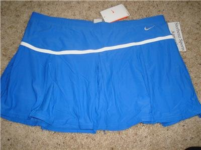 Nwt L NIKE Women Fit Dry Control Pleated Skirt New $55 Large 242178-478