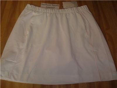 Nwt M NIKE GOLF Women Fit Dry Sphere Knit Skirt New $65 Medium 256870-100