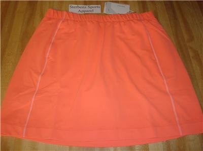Nwt M NIKE GOLF Women Fit Dry Sphere Knit Skirt New $65 Medium 256870-622