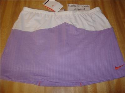 Nwt M NIKE Women Fit Dry Sphere Tennis Skirt New $55 Medium 217010-545