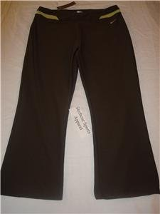 Nwt M NIKE Women Fit Dry Modern WorkOut Capri Pants New Medium 207250-261