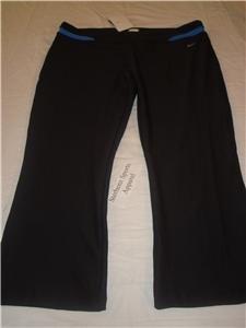 Nwt XL NIKE Women FitDry Modern WorkOut Capri Pants New XLarge 207250-015