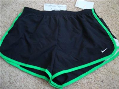 Nwt M NIKE Women Fit Dry Road Race 2 Running Shorts New Medium 228617-013