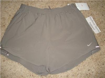 Nwt S NIKE Women Fit Dry Running Trail Music Shorts New Small 255777-002