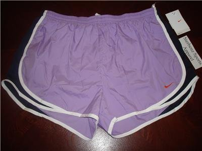 Nwt XL NIKE Women FitDry Tempo Running Track Shorts New XLarge 211646-545