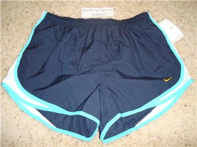 Nwt L NIKE Women Fit Dry Tempo Running Track Shorts New Large 211646-483