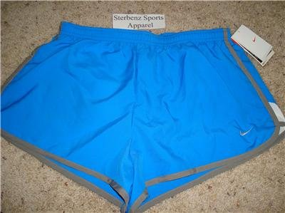 Nwt M NIKE Women Fit Dry Road Race 2 Running Shorts New Medium 228617-477