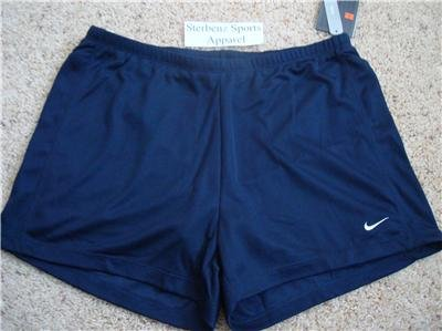 Nwt L NIKE Women Fit Dry Tennis 2-in-1 Shorts New Navy Large 225902-475