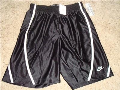 Nwt L NIKE Mens Black Basketball Fitness Shorts New Large 239546-010