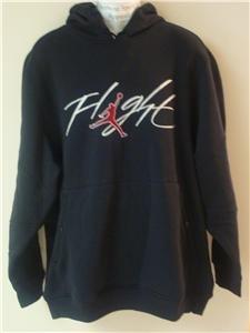Nwt L NIKE JORDAN Black Fleece Hoodie Hoody New $70 Large 228590-010