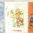 "5 Classic Card Sampler Greetings Cards Envelopes 7 1/4  x 5 1/4"" Regal"