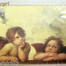 "10 Angel Churub Note Cards White Envelopes 5""  x  3 1/2"""