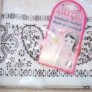 "21"" Dazzle Fashion Head Bandana White"
